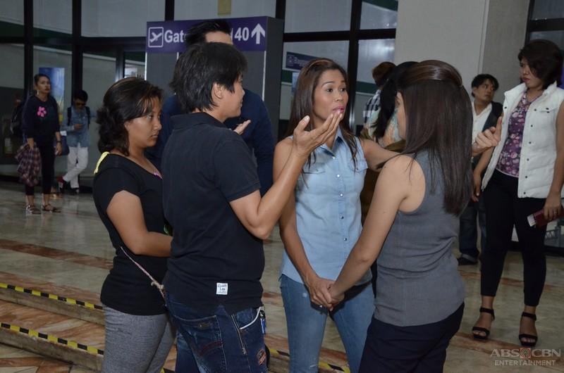 On the set of We Will Survive: Ang muling pagkikita nina Wilma at Maricel